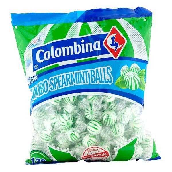 Bilde av Colombina Jumbo Spearmint Balls 1,08kg