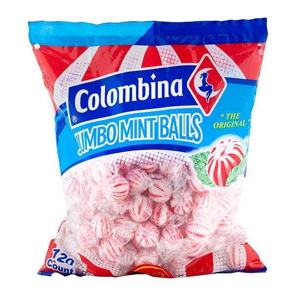 Bilde av COLOMBINA Jumbo Mint Balls 1,08kg