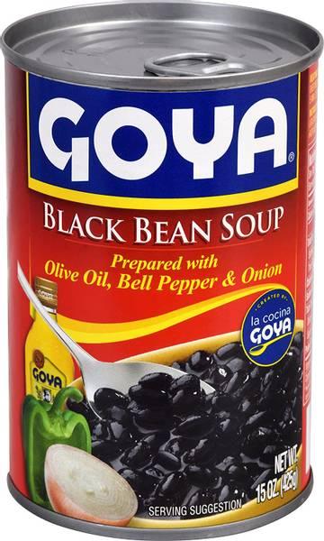 Bilde av GOYA Black Bean Soup 425g