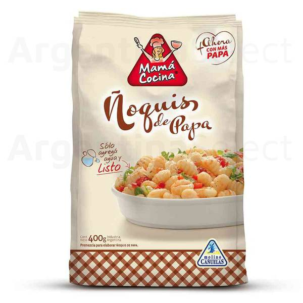 Bilde av Mama Cocina Plus Premezcla Ñoquis de Papa 400g