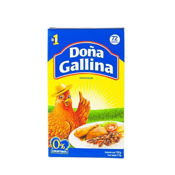 Bilde av DOÑA GALLINA Kyllingbuljong Caldo de Gallina 792g