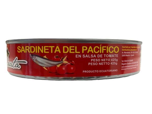 Bilde av El Pirata Pacific Sardines Tomato Sauce 425g