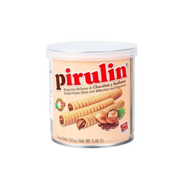 Bilde av PIRULIN - rullede vafler med sjokolade/hasselnøttkrem - Barquill