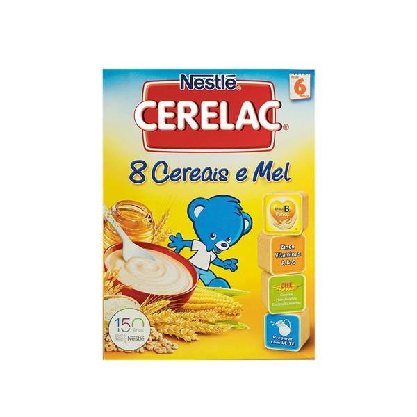 Bilde av CERELAC 8 Cereais e Mel 250g