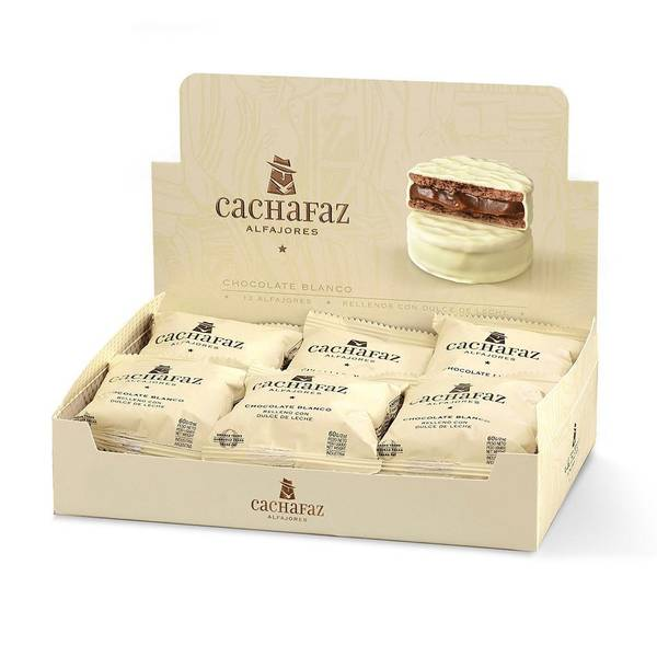 Bilde av Cachafaz Alfajor White Chocolate with Dulce de Leche