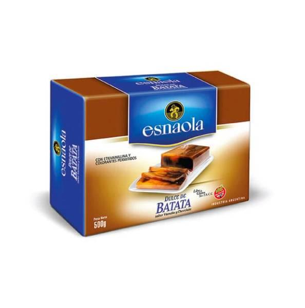 Bilde av Esnaola Dulce de Batata søtpotetgele med vanilje og sjokolade 50