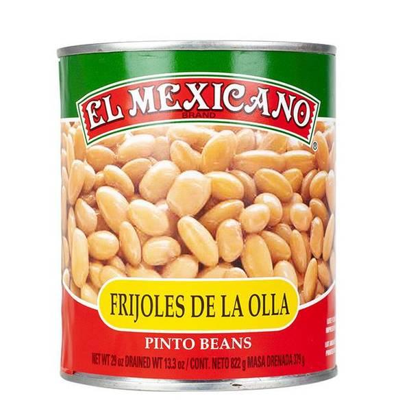 Bilde av EL MEXICANO Frijoles Pintos 822g