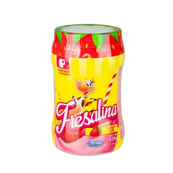 Bilde av FRESALINA pulver med jordbærsmak Fresa Instantánea