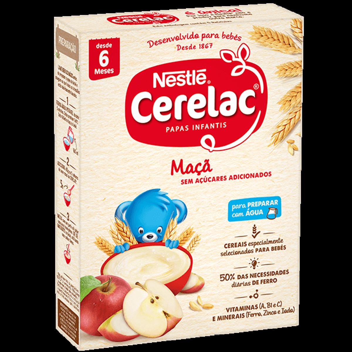 CERELAC MAÇÃ/EPPLE 250g