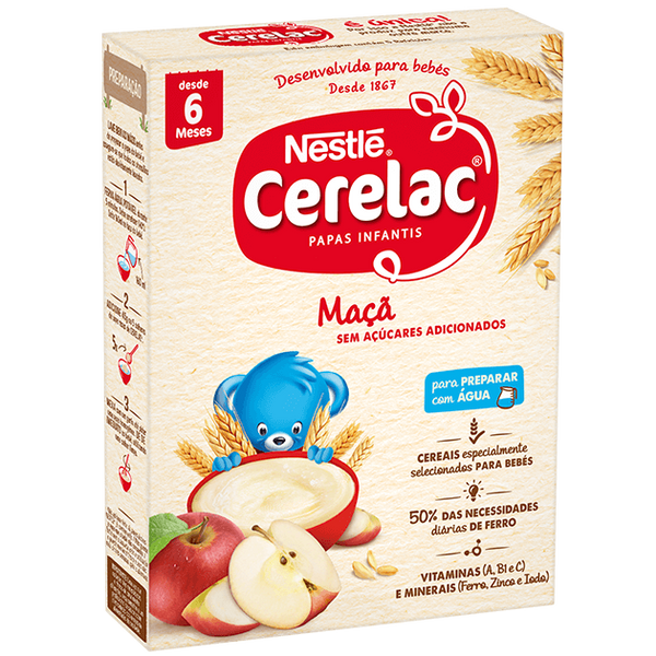 Bilde av CERELAC MAÇÃ/EPPLE 250g