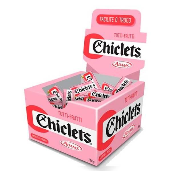 Bilde av CHICLETS TUTTI-FRUTTI ADAMS 2,8 g