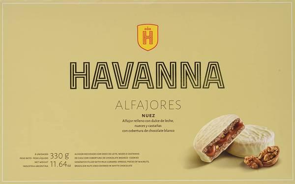 Bilde av Alfajors Havanna Nuez 6stk