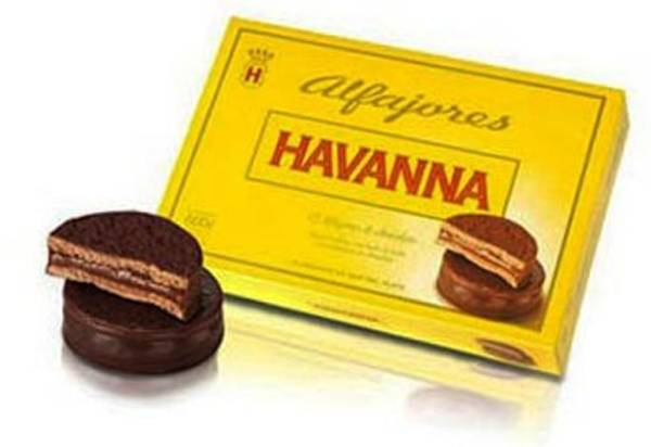 Bilde av Alfajores Havanna - Sjokolade 12 stk