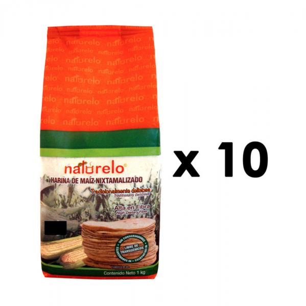Bilde av 10 kg Naturelo Harina de Maíz nixtamalizado para Tortillas