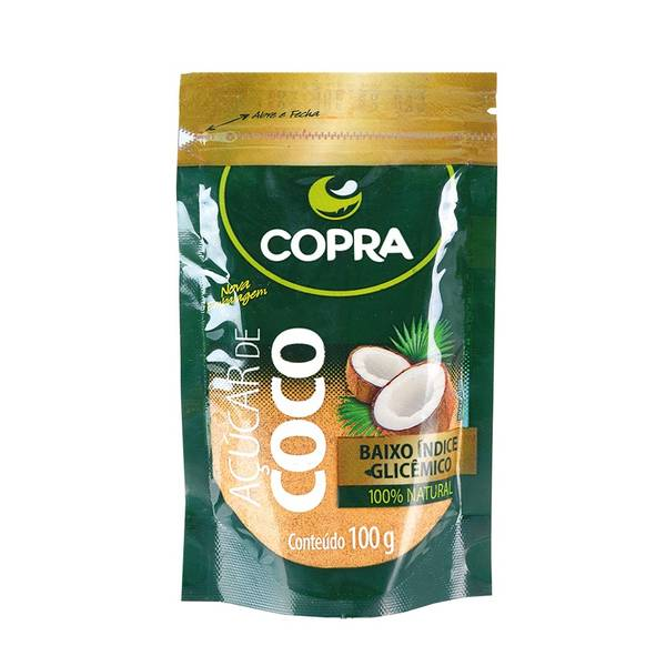 Bilde av COPRA kokosblomst sukker Açucar de Coco 100g