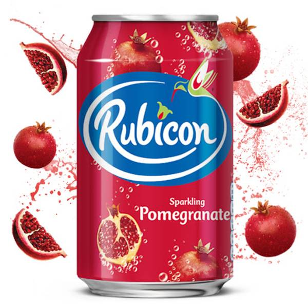 Bilde av Rubicon Sparkling Pomegranate Juice Drink 330ml