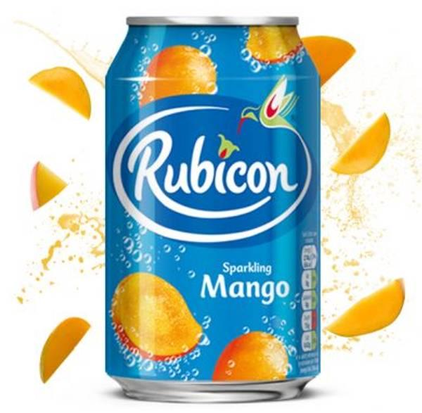 Bilde av Rubicon Sparkling Mango Juice Drink 330 ml