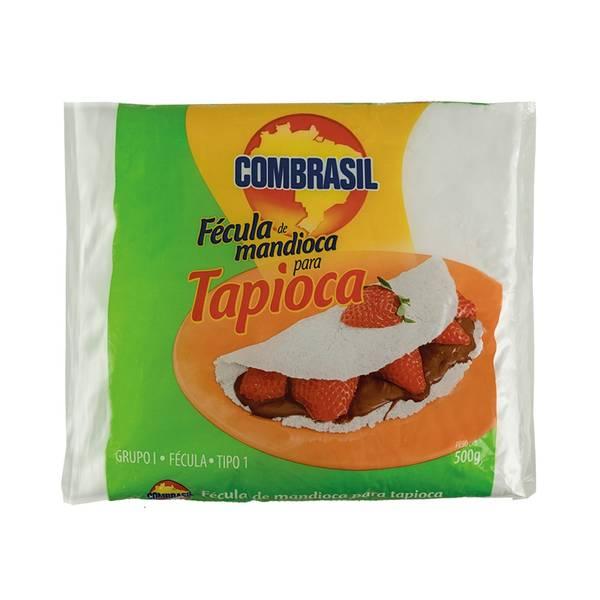 Bilde av COMBRASIL kassava stivelse til Tapioca Fécula de Mandioca para T