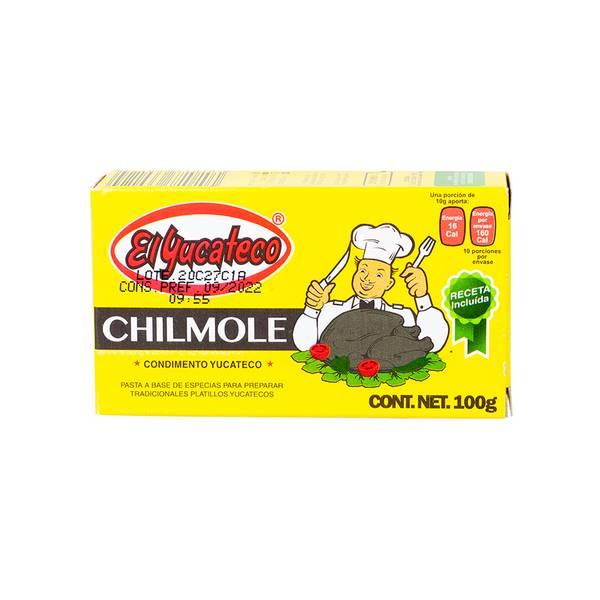 Bilde av EL YUCATECO Chilmole krydderpasta - Condimento Chilmole 100g