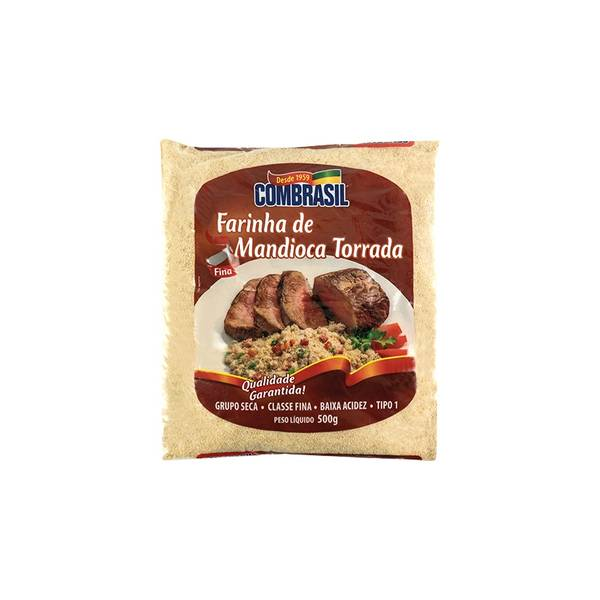Bilde av COMBRASIL stekt kassavemel - Farinha de Mandioca Torrada 500g