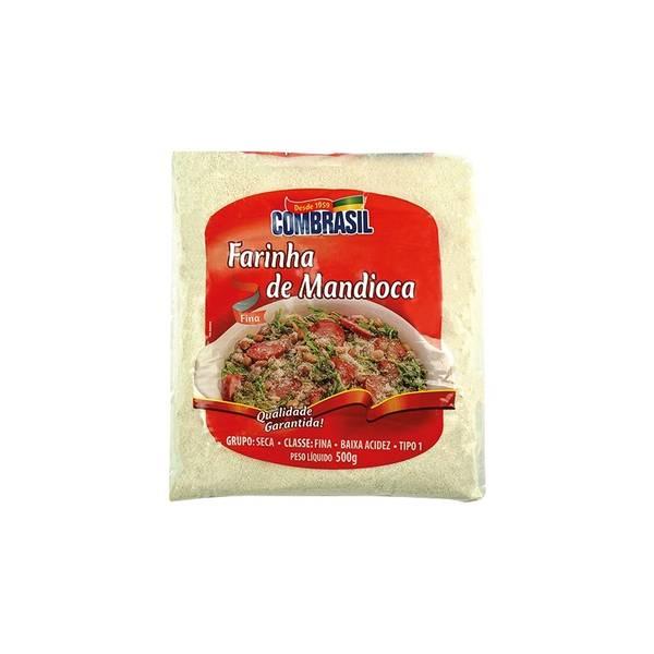 Bilde av COMBRASIL kassavemel rå Farinha de Mandioca Branca 500g