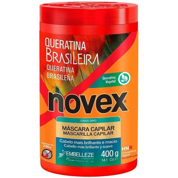 Bilde av MÁSCARA QUERATINA BRASILEIRA NOVEX 400 g