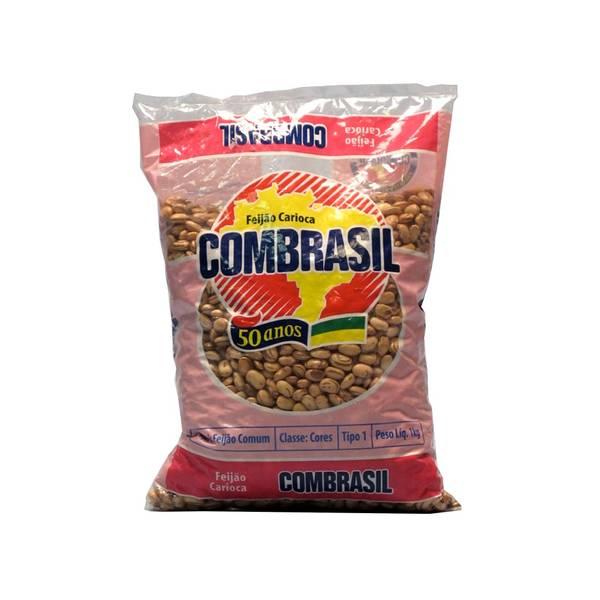 Bilde av COMBRASIL brune bønner Feijão Carioca 1 kg
