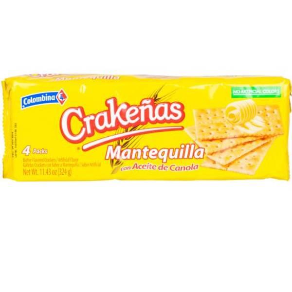 Bilde av COLOMBINA Crakeñas Mantequilla - Saltkjeks - Galletas Saladas co