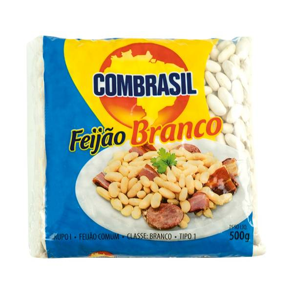 Bilde av COMBRASIL White Beans Feijão Branco 500g