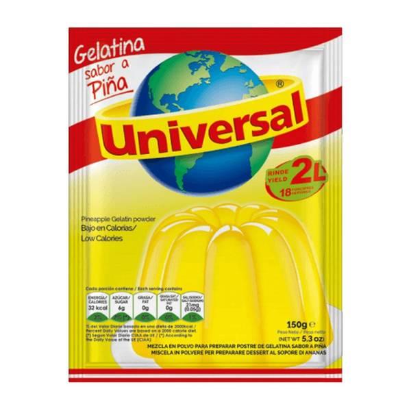 Bilde av Gelatina Piña / Ananas Universal 150g