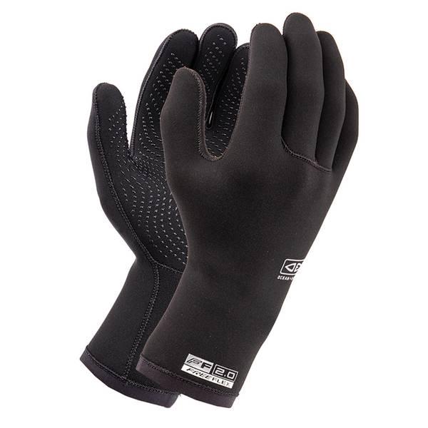 Bilde av O & E - Double Black 2mm 5 finger glove
