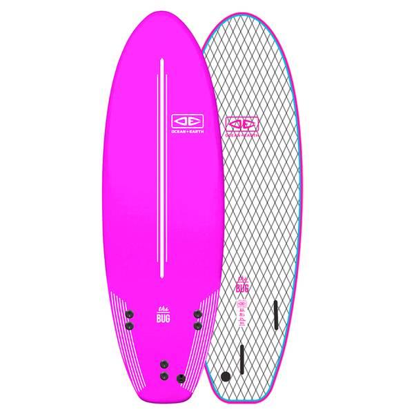 Bilde av O&E - The Bug Mini 5'6 - Pink -