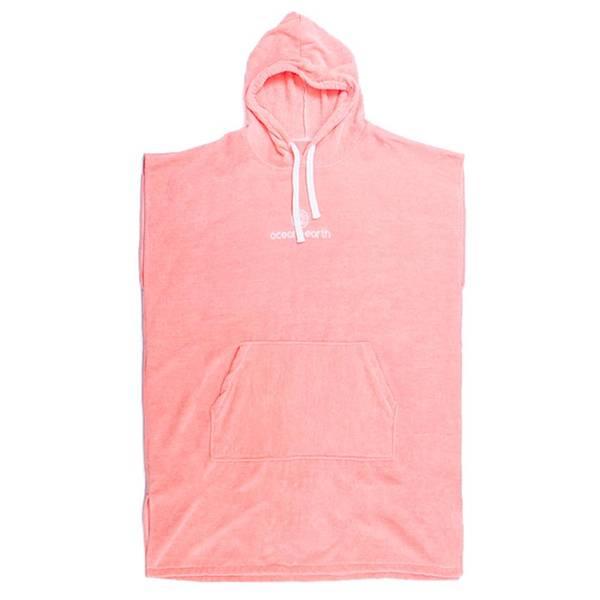 Bilde av O&E - Shell Pink Skifteponcho med hette