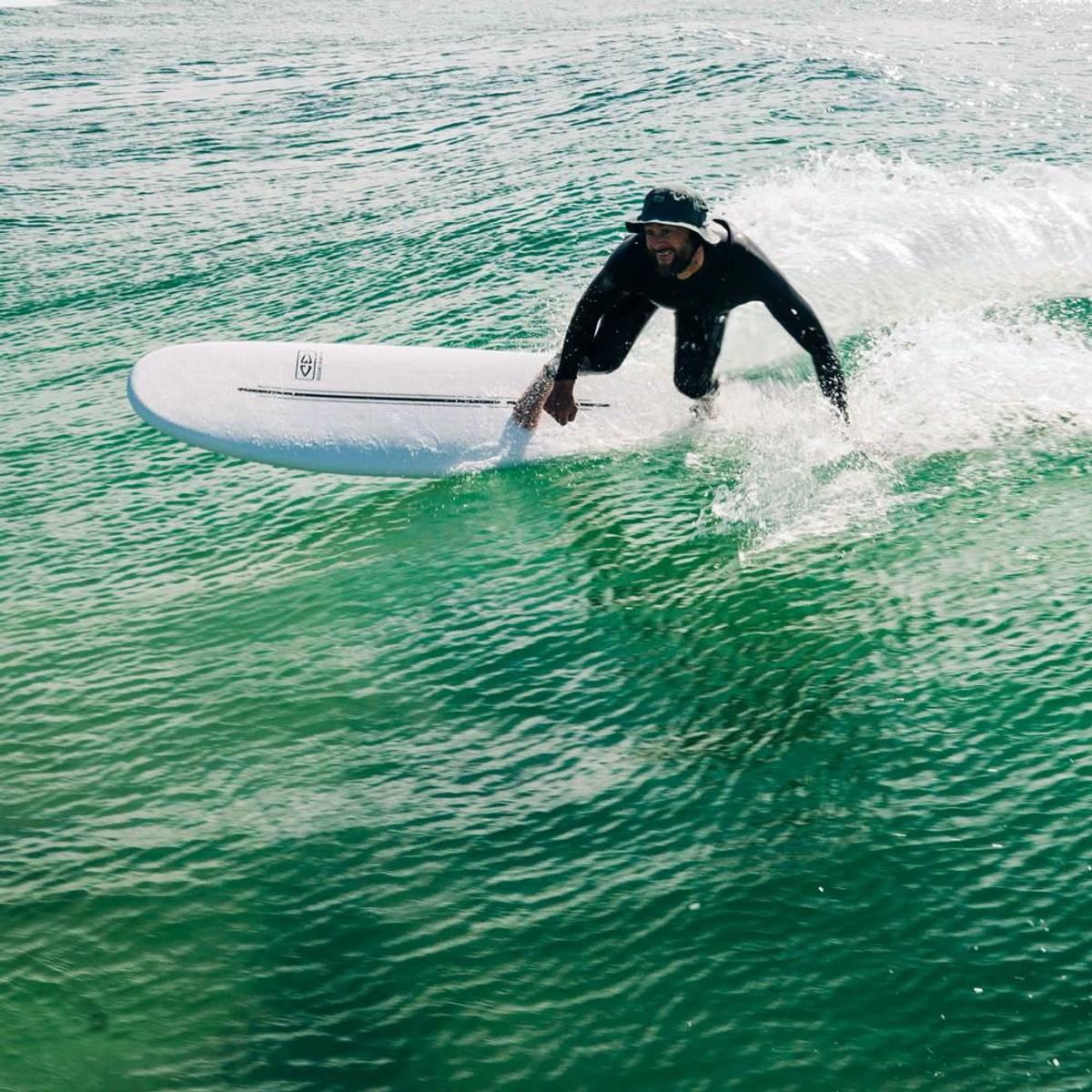 O&E Ezi-Rider 9'0'' - Pastel Blue - Softboard