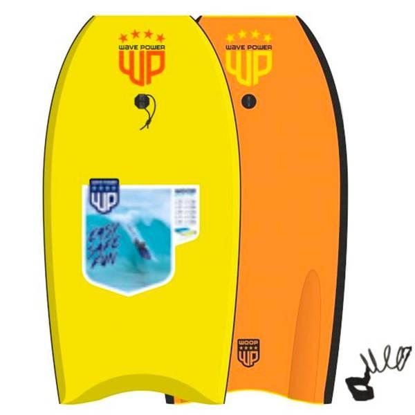 Bilde av Wave Power Bodyboard Woop 42 Yellow