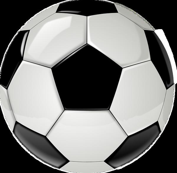 Bilde av Fotball Invitasjoner Svart og Hvit, 8stk