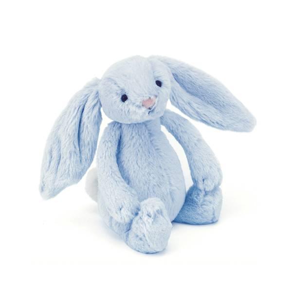 Bilde av Søt Lyseblå Kanin Baby Rangle