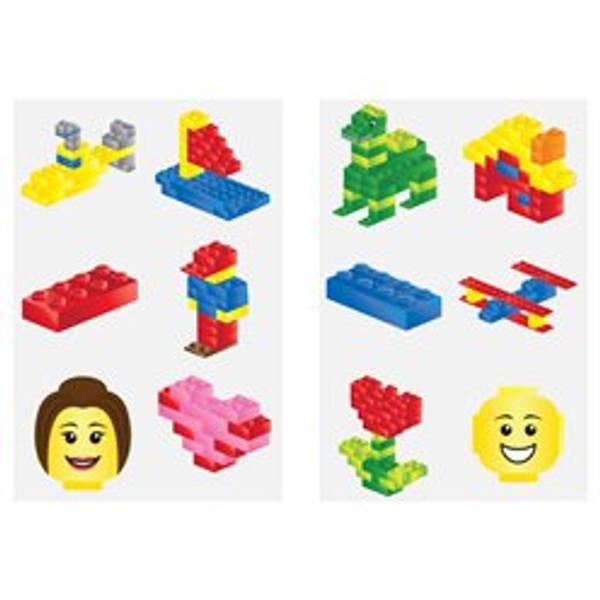 Bilde av Lego, Tattoveringer ass 6 stk
