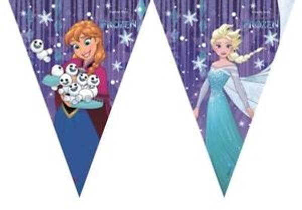 Bilde av Frost Flag Banner 2,3m Snowflakes
