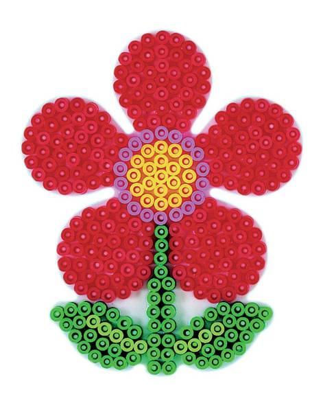 Bilde av Perleplate MIDI – Blomst