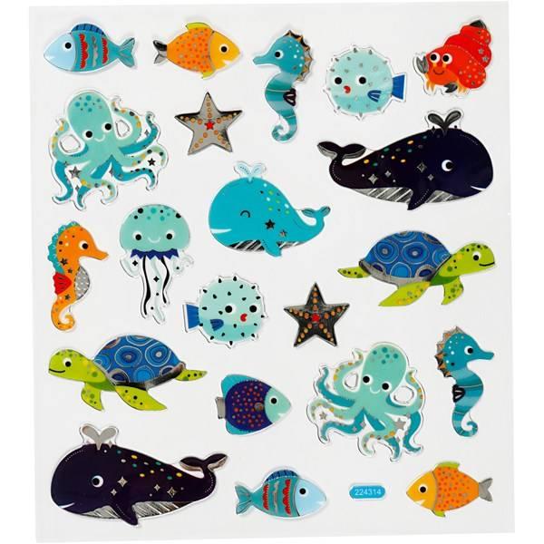 Bilde av Undervanns Klistremerker