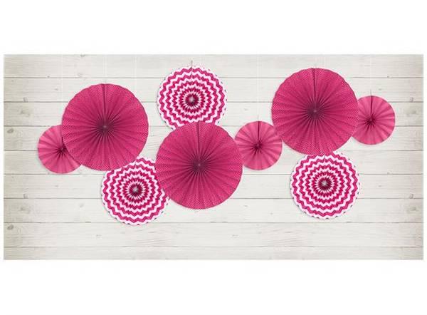 Bilde av Vifte, hot pink, 3 stk