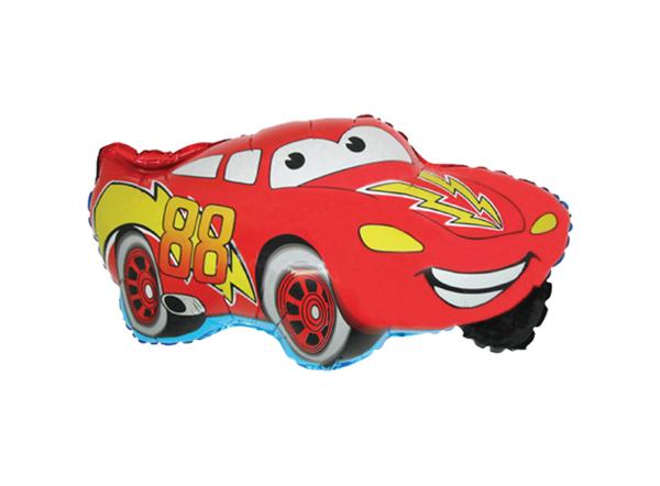 Bilde av XL Rød Bil Folieballong