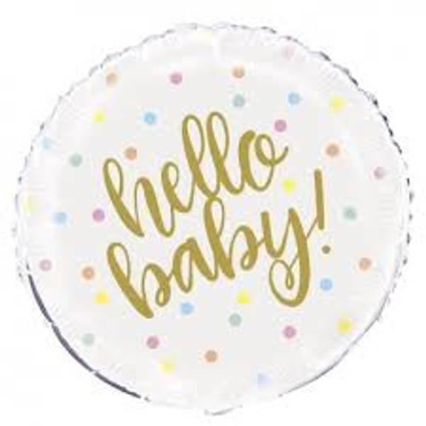 Bilde av Hello Baby Folieballong