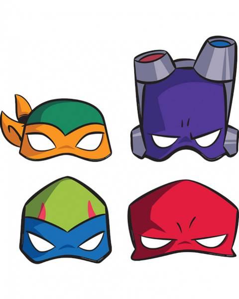 Bilde av Rise Of The Teenage Mutant Ninja Masker, 8 stk