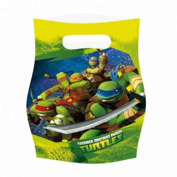 Bilde av Ninja Turtles, Godteposer 8 stk.