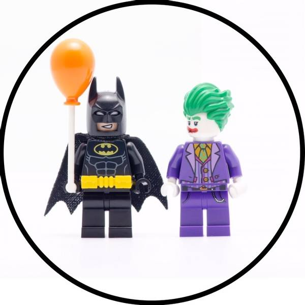 Bilde av LEGO Batman, Kakebilde, Sukkerpapir, 20cm