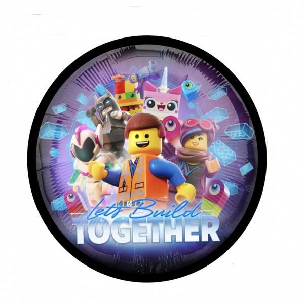 Bilde av LEGO, Kakebilde,20cm