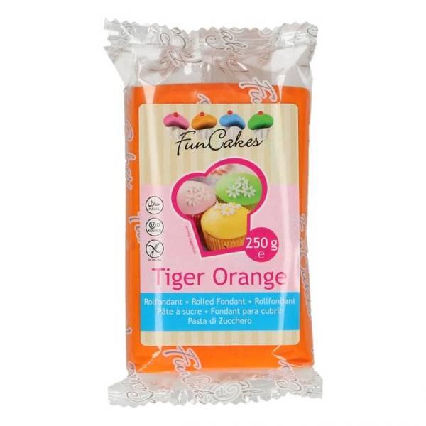 Bilde av Sukkerpasta, Tiger Orange, 250g
