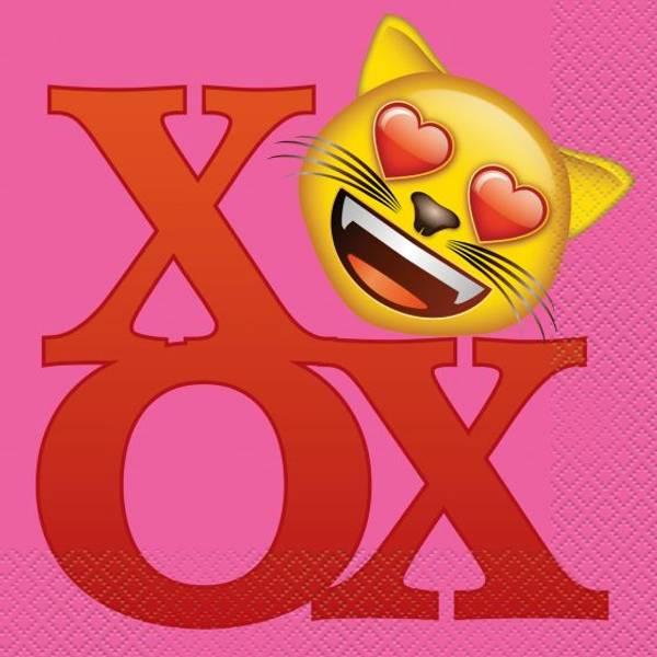 Bilde av Emoji Lunch Servietter 16 stk
